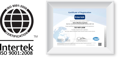 Intertek ISO 9001:2008 Certification
