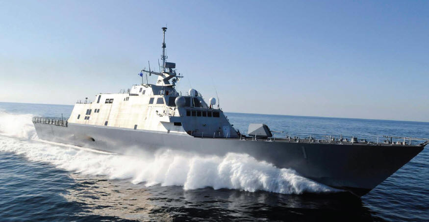 Artec Machine Systems Marine Gear LCS⁘1 ⁘ USS Freedom Class